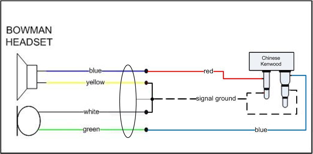 Схема подключения гнездо к наушникам